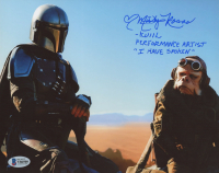 "Misty Rosas Signed ""The Mandalorian"" 8x10 Photo Inscribed ""Kuill"", ""Performance Artist"", & ""I Have Spoken"" (Beckett COA) at PristineAuction.com"