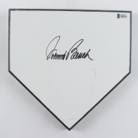 Johnny Bench Signed Mini Home Plate (Beckett COA) (See Description) at PristineAuction.com