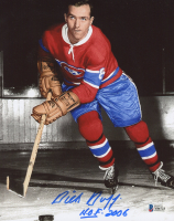 "Dick Duff Signed Canadiens 8x10 Photo Inscribed ""H.O.F. 2006"" (Beckett COA) at PristineAuction.com"