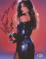 """Mary Crosby Signed 8x10 Photo Inscribed """"Very Best Wishes"""" (Beckett COA) at PristineAuction.com"""