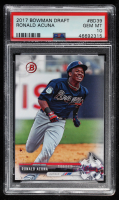 Ronald Acuna 2017 Bowman Draft #BD39 (PSA 10) at PristineAuction.com