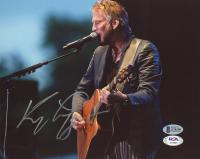 Kenny Loggins Signed 8x10 Photo (Beckett COA & PSA COA) at PristineAuction.com