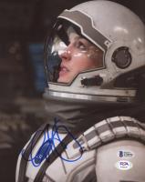 "Anne Hathaway Signed ""Interstellar"" 8x10 Photo (Beckett COA & PSA Hologram) at PristineAuction.com"