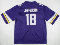 Justin Jefferson Signed Vikings Jersey (Beckett COA) at PristineAuction.com