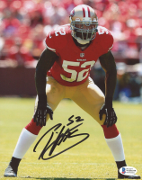 Patrick Willis Signed 49ers 8x10 Photo (Beckett COA) at PristineAuction.com