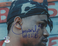 "Juvenile Signed 8x10 Photo Inscribed ""#1 H.B."" & ""99"" (Beckett COA & PSA COA) at PristineAuction.com"