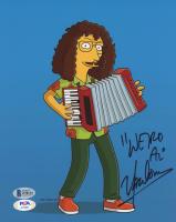 """Weird Al"" Yankovic Signed ""The Simpsons"" 8x10 Photo (Beckett COA & PSA COA) at PristineAuction.com"