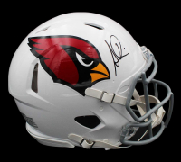 Simeon Rice Signed Cardinals Full-Size Authentic On-Field Speed Helmet (Radtke COA) at PristineAuction.com
