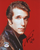 """Henry Winkler Signed """"Happy Days"""" 8x10 Photo Inscribed """"6/20"""" (Beckett COA & PSA COA) at PristineAuction.com"""