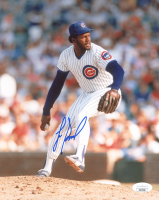 Lee Smith Signed Cubs 8x10 Photo (JSA COA) at PristineAuction.com