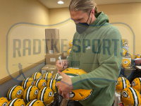 Clay Matthews III Signed Packers Full-Size Authentic On-Field Speed Helmet (Radtke COA) at PristineAuction.com