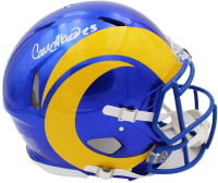 Cam Akers Signed Rams Full-Size Authentic On-Field Speed Helmet (Radtke COA) at PristineAuction.com