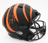 Joe Burrow Signed Bengals Full-Size Eclipse Alternate Speed Helmet (Fanatics Hologram) at PristineAuction.com