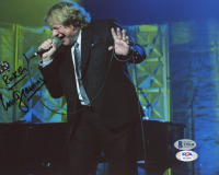"Lou Gramm Signed 8x10 Photo Inscribed ""Rock On!"" (Beckett COA & PSA COA) at PristineAuction.com"