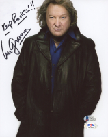 "Lou Gramm Signed 8x10 Photo Inscribed ""Keep Rockin'!!"" (Beckett COA & PSA COA) at PristineAuction.com"