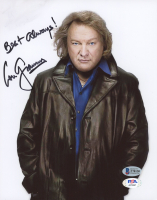 """Lou Gramm Signed 8x10 Photo Inscribed """"Best Always!"""" (Beckett COA & PSA COA) at PristineAuction.com"""