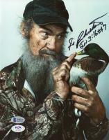 "Silas Robertson Signed ""Duck Dynasty"" 8x10 Photo  (Beckett COA & PSA COA) at PristineAuction.com"