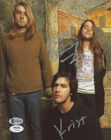 Chad Channing & Krist Novoselic Signed 8x10 Photo (Beckett COA & PSA Hologram) at PristineAuction.com
