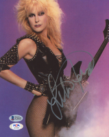 Lita Ford Signed 8x10 Photo (Beckett COA & PSA Hologram) at PristineAuction.com