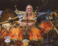 "Nicko McBrain Signed 8x10 Photo Inscribed ""2020"" (Beckett COA & PSA Hologram) at PristineAuction.com"