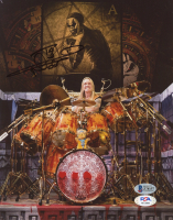 Nicko McBrain Signed 8x10 Photo (Beckett COA & PSA Hologram) at PristineAuction.com