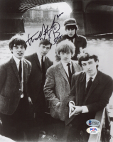 """Charlie Watts Signed 8x10 Photo Inscribed """"Thank You"""" (Beckett COA & PSA Hologram) at PristineAuction.com"""