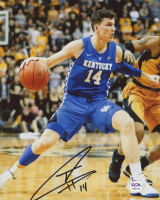 Tyler Herro Signed Kentucky Wildcats 8x10 Photo (PSA COA) at PristineAuction.com