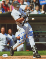 Frank Thomas Signed White Sox 8x10 Photo (Beckett Hologram) at PristineAuction.com