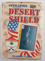 1991 Pacific Operation Desert Shield Wax Box with (36) Packs (See Description) at PristineAuction.com
