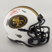 Patrick Willis Signed 49ers Lunar Eclipse Alternate Speed Mini Helmet (Beckett COA) (See Description) at PristineAuction.com
