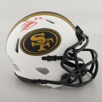 Patrick Willis Signed 49ers Lunar Eclipse Alternate Speed Mini Helmet (Beckett COA) at PristineAuction.com