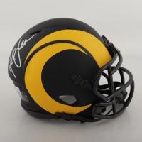 Marshall Faulk Signed Rams Eclipse Alternate Speed Mini Helmet (Beckett Hologram) at PristineAuction.com