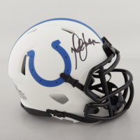 Marshall Faulk Signed Colts Lunar Eclipse Alternate Speed Mini Helmet (Beckett Hologram) at PristineAuction.com