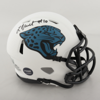 Laviska Shenault Signed Jaguars Lunar Eclipse Alternate Speed Mini Helmet (Beckett Hologram & Prova Hologram) at PristineAuction.com