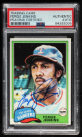 Fergie Jenkins Signed 1981 Topps #158 (PSA Encapsulated) at PristineAuction.com