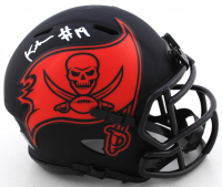 Keyshawn Johnson Signed Buccaneers Eclipse Alternate Speed Mini Helmet (Beckett COA) at PristineAuction.com
