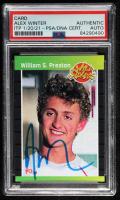 "Alex Winter Signed ""Bill & Ted's Excellent Adventure"" William S. Preston Phantom Cardboard Trading Card (PSA Encapsulated) at PristineAuction.com"