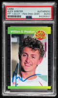 Alex Winter Signed William S. Preston Phantom Cardboard Trading Card (PSA Encapsulated) at PristineAuction.com