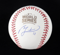 Ben Zobrist Signed 2016 World Series Series Baseball (Beckett COA) (See Description) at PristineAuction.com
