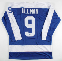 "Norm Ullman Signed Jersey Inscribed ""HOF - 82"" (Beckett COA) at PristineAuction.com"
