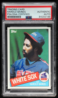 Harold Baines Signed 1985 Topps #249 (PSA Encapsulated) at PristineAuction.com