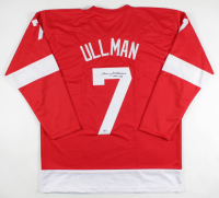 "Norm Ullman Signed Jersey Inscribed ""HOF -82"" (Beckett COA) at PristineAuction.com"