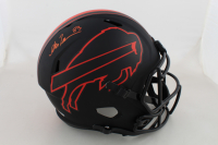 Andre Reed Signed Bills Eclipse Alternate Speed Full-Size Helmet (Beckett COA) at PristineAuction.com