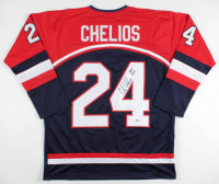 "Chris Chelios Signed Jersey Inscribed ""HOF 2013"" (Beckett COA) at PristineAuction.com"