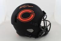 "Mike Singletary Signed Bears Full-Size Eclipse Alternate Speed Helmet Inscribed ""HOF 98"" (Beckett COA) at PristineAuction.com"