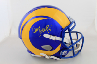 Cam Akers Signed Rams Full-Size Authentic On-Field Speed Helmet (Beckett COA) (See Description) at PristineAuction.com