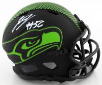 Jordyn Brooks Signed Seahawks Eclipse Alternate Speed Mini-Helmet (Beckett COA) at PristineAuction.com