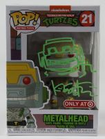 "Kevin Eastman Signed ""Teenage Mutant Ninja Turtles"" #21 Metalhead Funko Pop! Vinyl Figure With Hand-Drawn Sketch (Beckett COA) at PristineAuction.com"