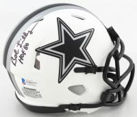 "Bob Lilly Signed Cowboys Lunar Eclipse Alternate Speed Mini Helmet Inscribed ""HOF '80"" (Beckett COA) at PristineAuction.com"