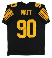 T. J. Watt Signed Jersey (Beckett COA) at PristineAuction.com
